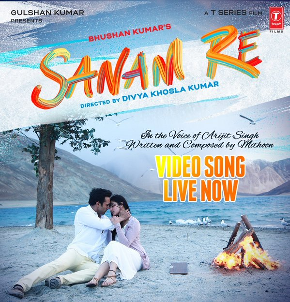 sanam re title song lyrics