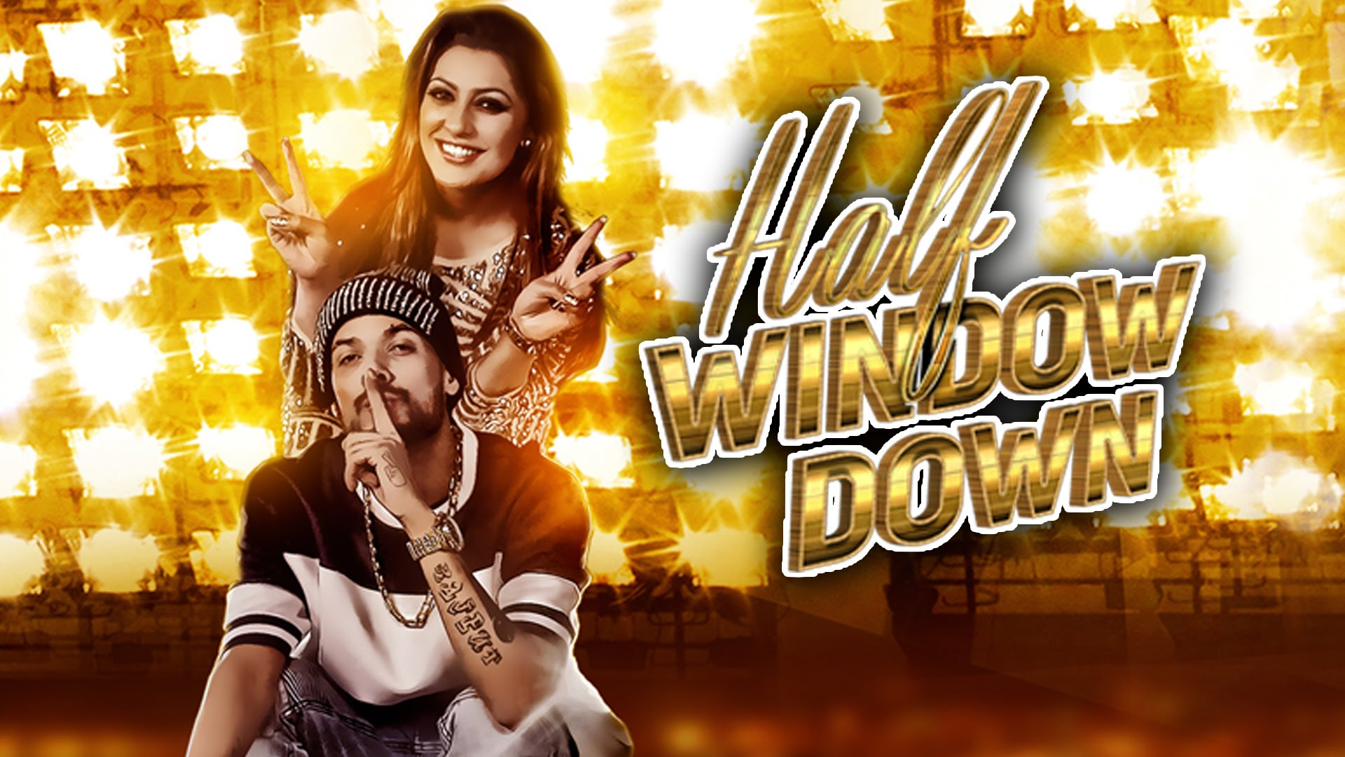 Half Window Down Lyrics | Punjabi Song by Ikka, Dr  Zeus