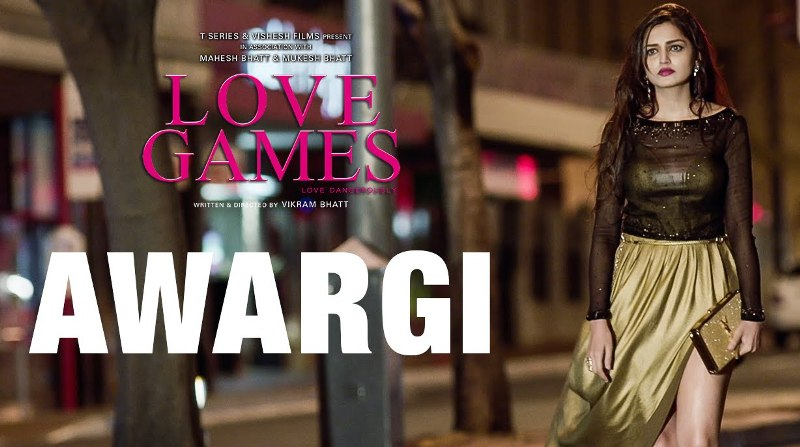 Awargi Se Dil Bhar Gaya Lyrics | 'Love Games' Movie Full Song