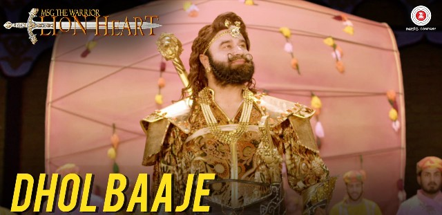 Dhol Baaje MSG Lion Heart Lyrics