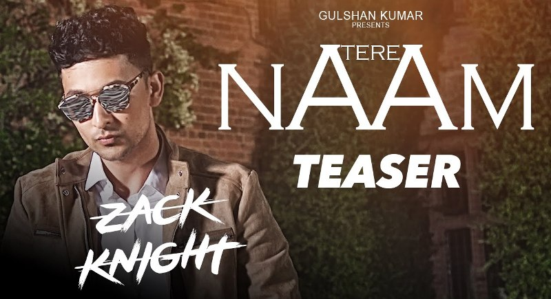 Tere Naam Lyrics - Zack Knight