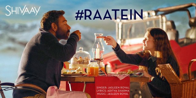 raatein shivaay lyrics, raatein shivaay song lyrics, raatein jasleen royal lyrics, raatein new song lyrics, raatein hindi song lyrics
