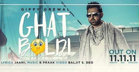 Ghat Boldi Gippy Grewal Lyrics