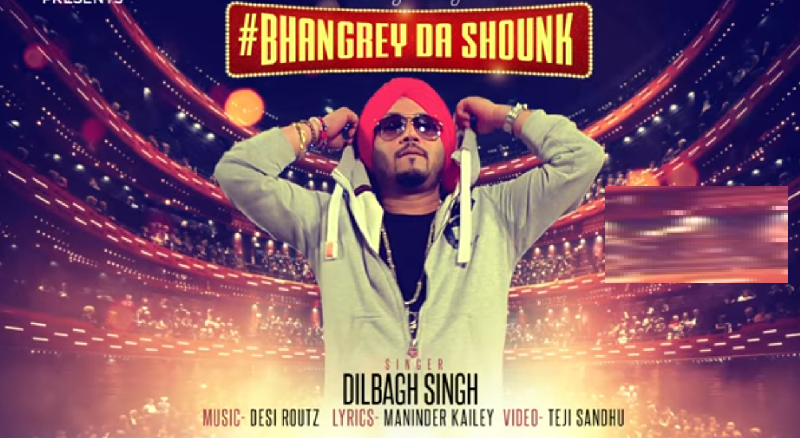 bhangrey da shounk lyrics