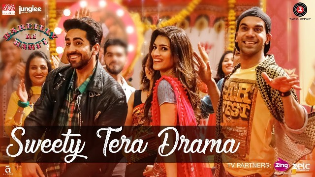 Sweety Tera Drama Macha De Hungama Lyrics- Bareilly Ki Barfi Movie Song