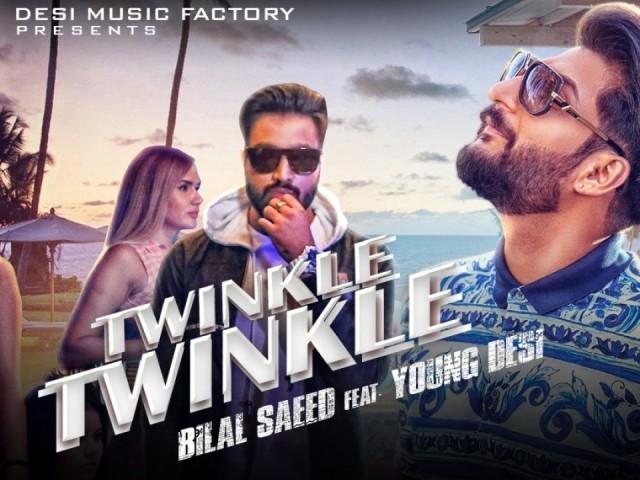 Naina Tere Twinkle Twinkle Lyrics- Bilal Saeed Ft. Young Desi